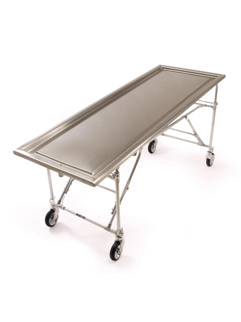 No folding embalming table hickey co