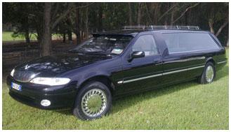 1990 W.D. Hadley Ford hearse