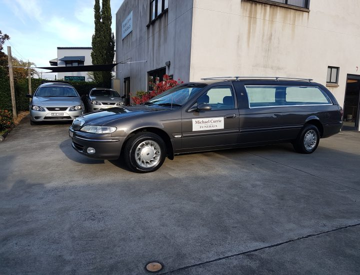 Ford Hearse  EF  1995